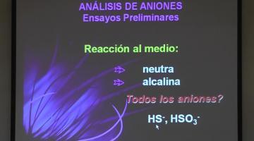 Química Analítica 2020. Cationes y Aniones 2º parte.
