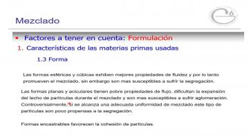 Tecnología Farmacéutica II 2020. Mezclado 2° parte.